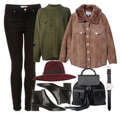 """Untitled #5365"" by rachellouisewilliamson on Polyvore featuring Topshop, Étoile Isabel Marant, Acne Studios, Gucci, Miss Selfridge and Daniel Wellington"