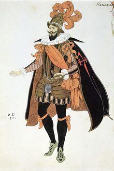 Bilibin_costume-design-for-the-drama-of-lope-de-vega-s-fuente-ovejuna-1911