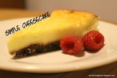 Eat Without Gluten: Simple Gluten-free Cheesecake