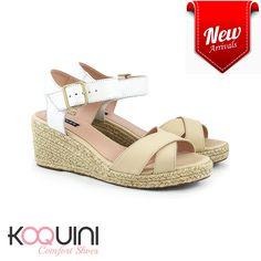 Para se apaixonar 😍 por essa #anabela sem perder o conforto #koquini #comfortshoes #euquero Compre Online: http://koqu.in/2d07rDB