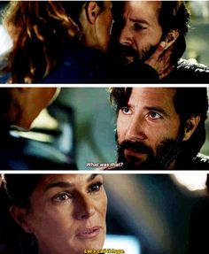 Let's call it hope... OMG #kabby #the100 #abby #marcus #kane