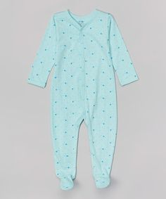 0341a6768 Another great find on #zulily! Blue Star Organic Footie - Infant by Sage  Creek
