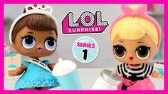 L.O.L. Surprise! Dolls Serie 1 ❤️  Juega con IRENE ❤️