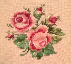 Roses Small Flowers, Blackwork, Quilt Blocks, Needlework, Cross Stitch, Quilts, Embroidery, Canvas, Sewing