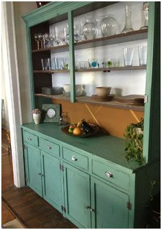 Annie Sloan Chalk Paint Kitchen Cabinets | Beauty Asylum: Distressed Buffet from the 1930's