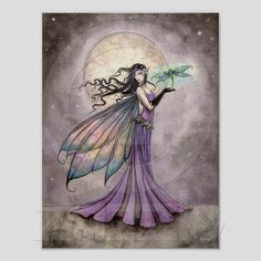 Molly Harrison - Fairy And Dragonfly