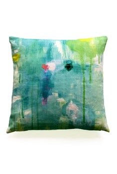 BALANCE ~ LINEN CUSHION WITH FEATHER INSERT