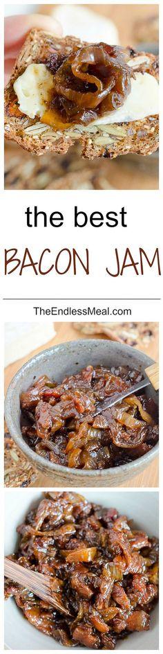 The Best Bacon Jam