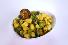 the chew | Recipe  | Michael Symon's Grilled Pineapple Salad
