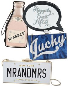 7 Fun Clutches for the Alternative Bride