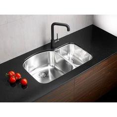 Blanco - Stainless Steel Undermount Kitchen Sink - SOP1206 - Home ...