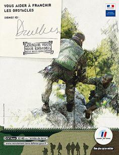 Recrutement et publicité : l'armée de Terre en campagne