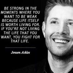 Supernatural Series, Supernatural Imagines, Supernatural Funny, Supernatural Bloopers, Supernatural Tattoo, Supernatural Wallpaper, Great Quotes, Quotes To Live By, Me Quotes