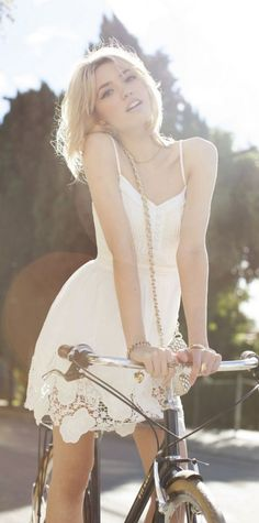 #summer #fashion / crochet dress