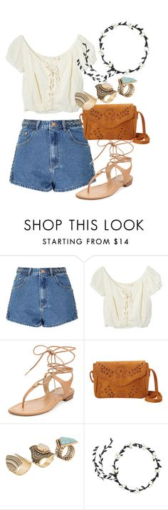 """hello summer"" by dreamer3108 on Polyvore featuring Glamorous, Jens Pirate Booty, MICHAEL Michael Kors, ALDO and summer2016"