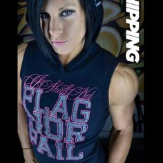 I shall not FLAG NOR FAIL workout gear is the best!! Go DLB