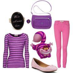 dress like alice in wonderland march chesire cat