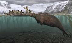 The Steller's sea cow is gone. Thismega-manatee swam the North Pacific for millions of years, and then in the 1700s humans hunted them to extinction. Today on the front page of the New York Times,...