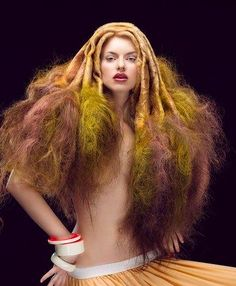 Beauty Laboratory of Leonid Romanov  (A little strange. Who would want hair like this?)
