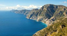 The Gods' Pathway, a trek with spectacular scenery en route. Ideally, walkers should walk from Agerola to Nocelle, and not vice-versa, this way the route is a gentle downhill one, with magnificent views of the Amalfi Coast and the island of Capri.