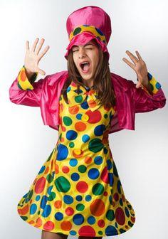 Woman clown - Las Fiestas