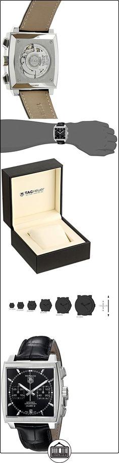 TAG Heuer CAW2110.FC6177 Monaco - Reloj cronógrafo automático  ✿ Relojes para hombre - (Lujo) ✿