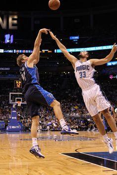 Dirk Nowitzki - Dallas Mavericks v Orlando Magic