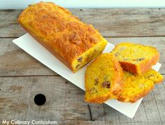 My Culinary Curriculum: Cake salé poulet rôti et mimolette  (Salted cake w...