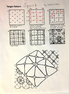 Zentangle Patterns Step by Step | Flickr: The Freehand doodle patterns Pool