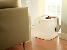 Modkat Litter Box by Modko    Canessi.com/kattenbakken-interieur  #cat #cats #design #interior #litterbox