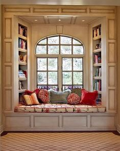 Do you know how wonderful it would be to have a seated windowsill in my bedroom?!