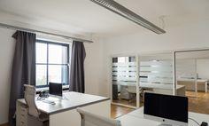 Modern ausgestattete Arbeitsplätze im Medienhafen #Büro, #Bürogemeinschaft, #Office, #Coworking, #Dusseldorf, #Düsseldorf