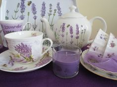 Lavender Purple Tea