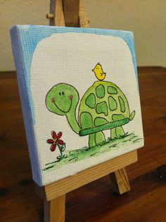 Kids canvas, kids art class, art for kids, cute paintings, original paintin Small Canvas Art, Kids Canvas, Mini Canvas Art, Small Art, Canvas Art Prints, Painting For Kids, Diy Painting, Oil Pastel Drawings Easy, Easy Art For Kids