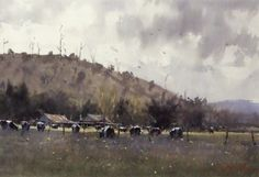 Joseph Zbukvic - MILKING TIME - YARRA VALLEY