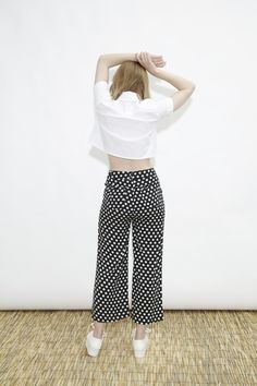 Crop Wide Leg Trouser  http://www.thewhitepepper.com/collections/new-in/products/cropped-wide-leg-trouser