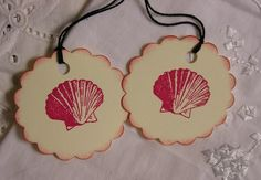 sea shell tags