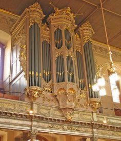 Organ in the Sheldonian Theatre | Flickr - Photo Sharing!