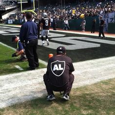 Raiders game. The first home game right after Al Davis passed away.