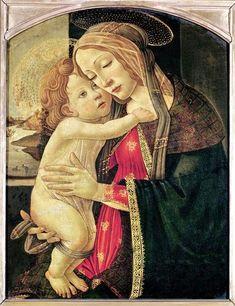 Sandro Botticelli Italian artist 1445-1510 Virgin and Child