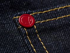 hiut denim co uk long john blog denim jeans raw rigid blue authentic original selvage selvedge workwear red rivets donut button  5 pockets r...
