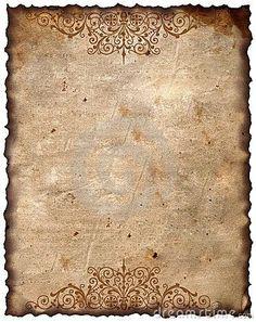 Vintage Background - Old Paper: