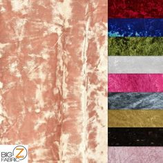 CRUSHED STRETCH VELVET COSTUME FABRIC SOLD BY THE YARD SKIRTS DRESS DANCE GOWN #BIGZFABRIC