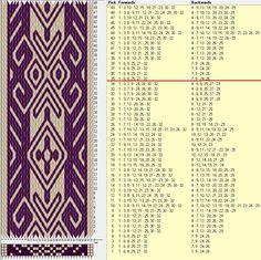 32 tarjetas, 2 colores, repite cada 34 movimientos // sed_814a diseñado en GTT༺❁