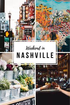 Weekend in Nashville Nashville Bars, Weekend In Nashville, Nashville Vacation, Visit Nashville, Tennessee Vacation, Nashville Tennessee, Tennessee Cabins, Street Mural, Wall Street
