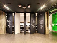 ZOOI Studio Create Office Interior for the LETLED Company in Kiev - InteriorZine