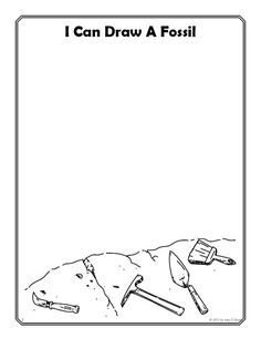 fossil coloring sheets - Google Search