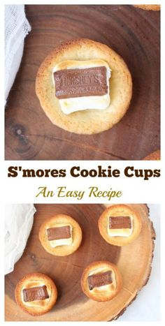 How to make S'mores Cookie Cups- MommySnippets.com