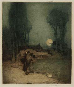 William Lee Hankey: The Summer Moon, c.1920