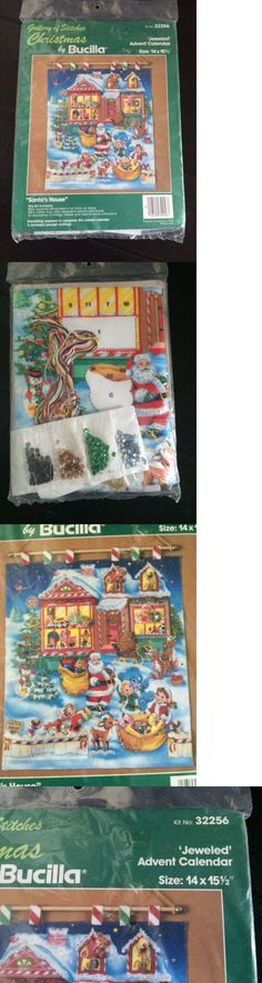 Advent Calendars 156813: Bucilla Advent Calendar Kit Felt Santas House Christmas 32256 Jeweled Sleigh -> BUY IT NOW ONLY: $78 on eBay!